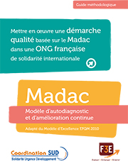 guide méthodologique madac demarche qualité ONG solidarité internationale